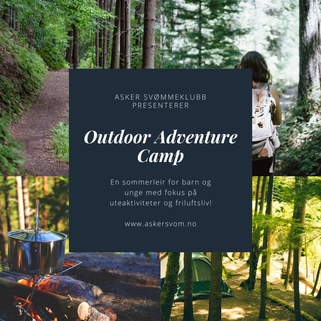 Sommerleir for barn og unge: Outdoor Adventure Camp Asker
