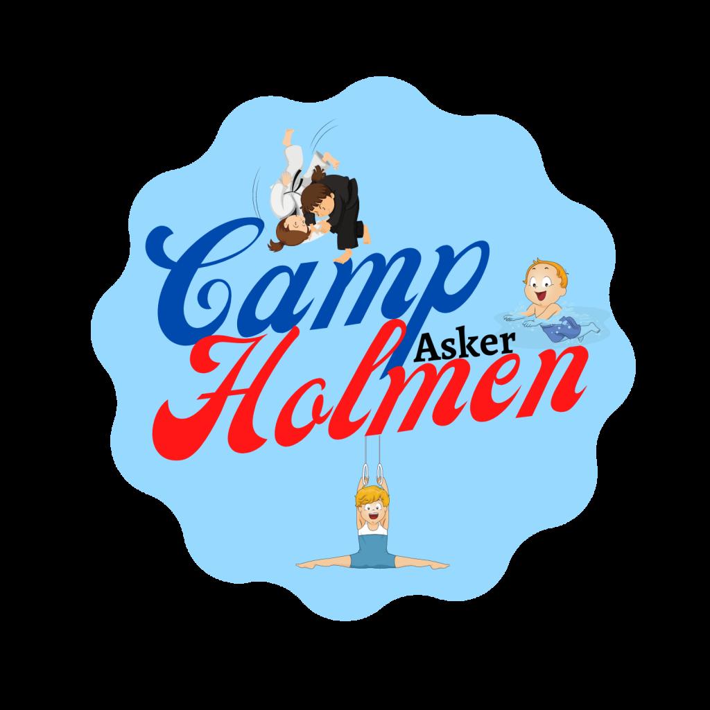 Camp Holmen logo - sommerleir for barn