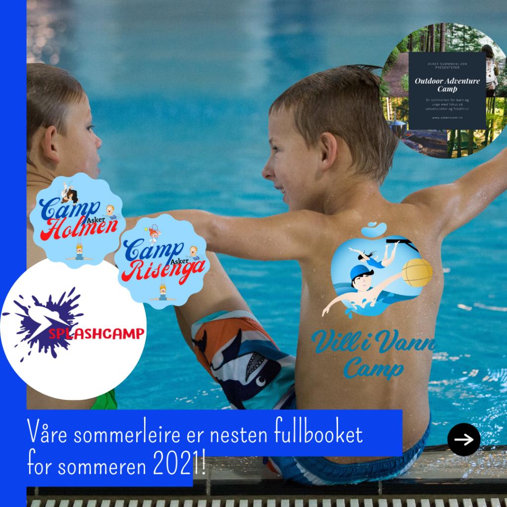 Sommerleire for barn 2021. Nesten fullbooket!