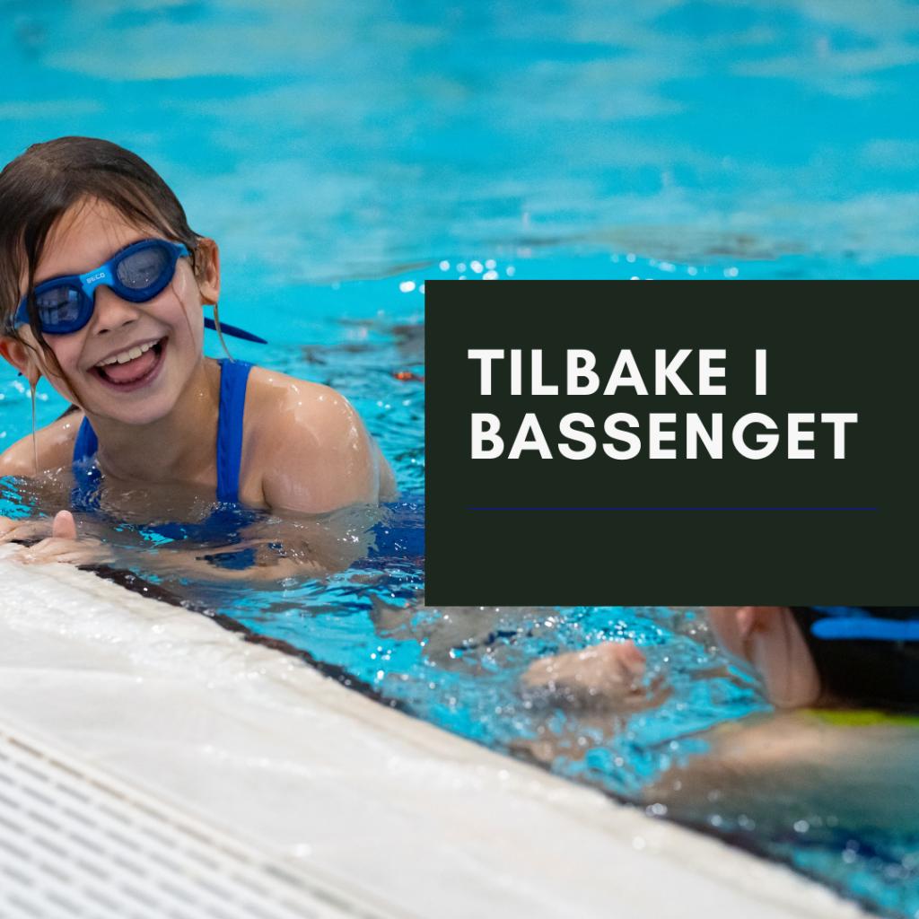 Asker Svømmeklubb, glad jente tilbake i bassenget