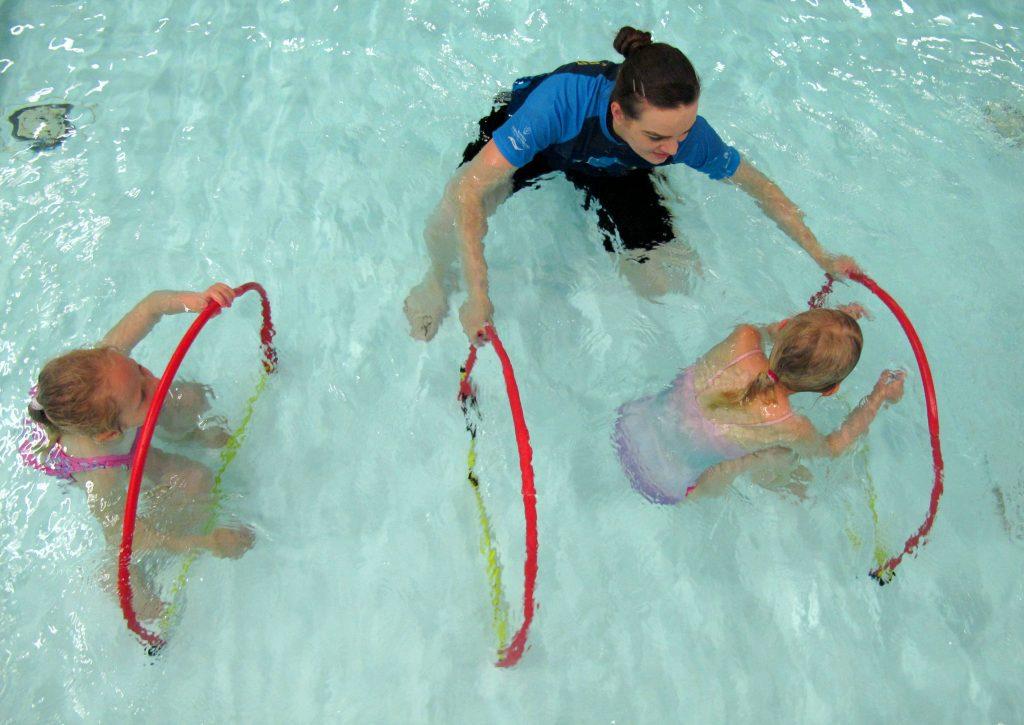 Sommersvøm gratis svømmeundervisning, dykking