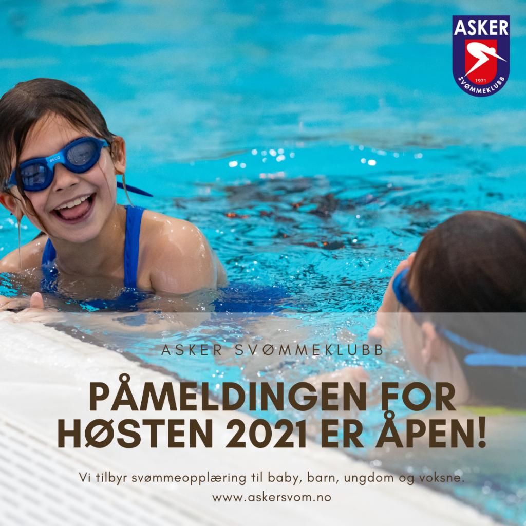 Svømmeopplæring for baby, barn, ungdom og voksne
