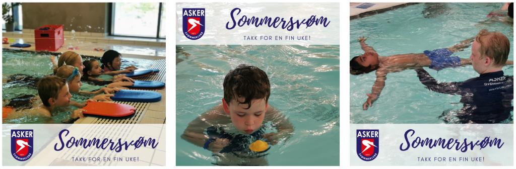 Sommersvøm, gratis svømmeopplæring takket være Gjensidigestiftelsen